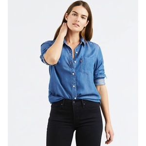 Levi's Ultimate Boyfriend Chambray Shirt